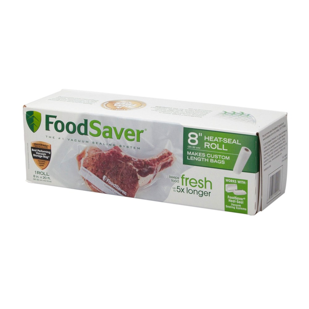 FoodSaver 8 x 20′ Heat Seal Roll – FSFSBF0516-NP, Clear 53185004