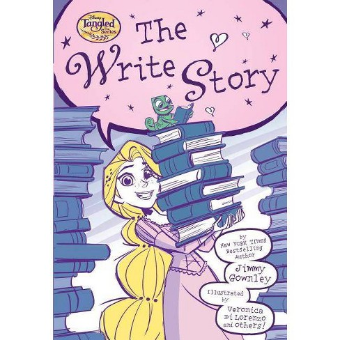 The Write Story (Disney Tangled the Series) - by  Jimmy Gownley (Paperback) - image 1 of 1
