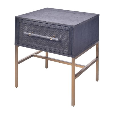Sophia 1 Drawer Nightstand - Hopper Studio