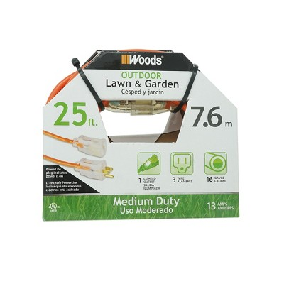 Woods 25' Extension Cord