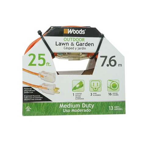 8.25 X 3.25 X 7 Woods Extension Cord - image 1 of 4