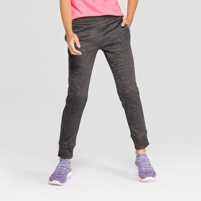 785491a327b6 Girls  Cozy Tech Fleece Jogger Pants – C9 Champion® Gray Heather S ...