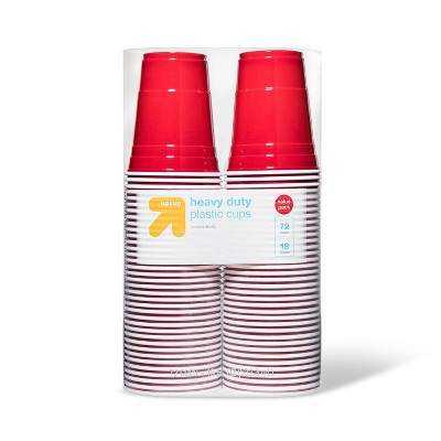 Disposable Red Plastic Cups - 18oz - up & up™