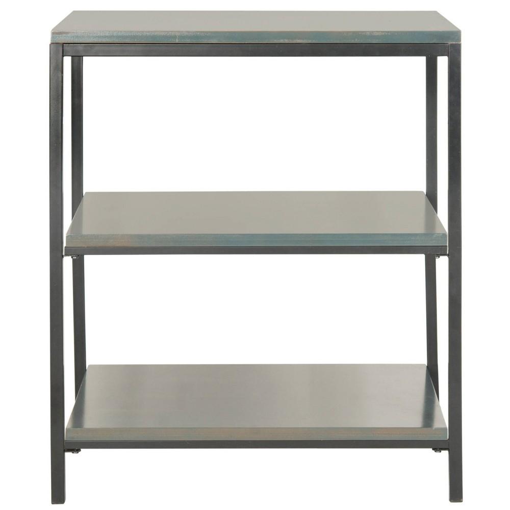 Verona 28 1 34 Bookcase Teal Safavieh