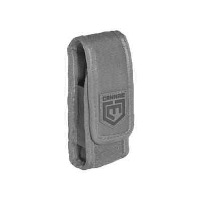 Cannae Pro Gear Crumina 3 Inch Utility Tool Storage Pouch with Strap, Dark Gray