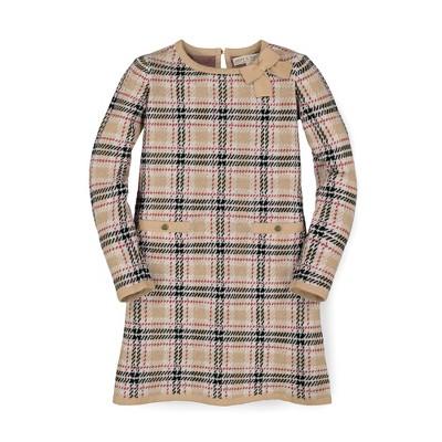 Hope & Henry Girls' Bow Detail Sweater Dress, Infant