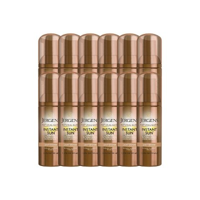 Jergens Natural Glow Instant Sun Self Tanner Mousse