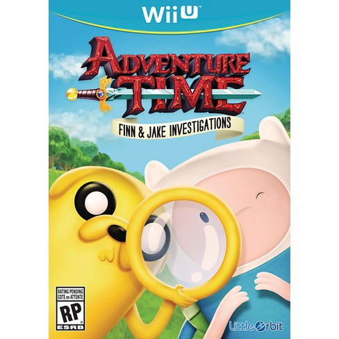 Adventure Time Finn and Jake Investigations Nintendo Wii U - image 1 of 1