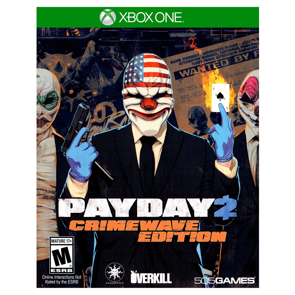 Payday 2: Crimewave Edition Pre-Owned Xbox One