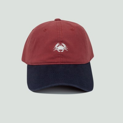 a6a1263e3cf Men s Crab Dad Hat - Red One Size