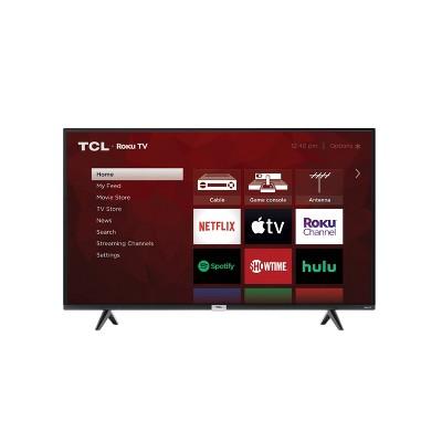 "TCL 43"" Class 4-Series 4K UHD HDR Smart Roku TV – 43S435"