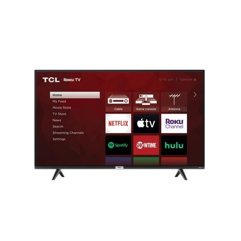 "TCL 43"" Class 4-Series 4K UHD HDR Smart Roku TV – 43S435 - image 1 of 4"