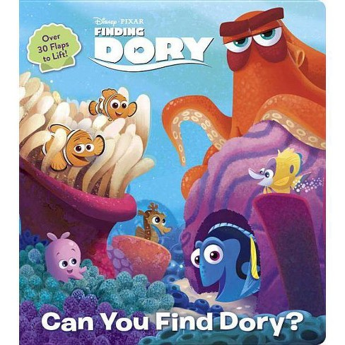 Can You Find Dory? (Disney/Pixar Finding Dory) - (Lift-The-Flap) (Board_book) - image 1 of 1