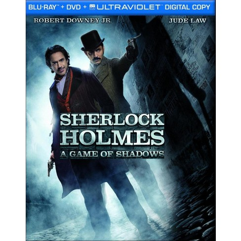 Sherlock Holmes: A Game of Shadows (2 Discs) (Includes Digital Copy) (UltraViolet) (Blu-ray/DVD) - image 1 of 1
