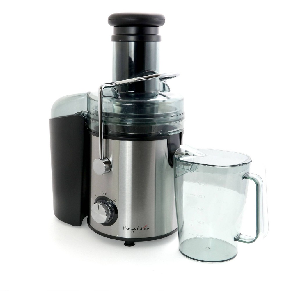 Image of MegaChef Wide Mouth Juice Extractor - Silver