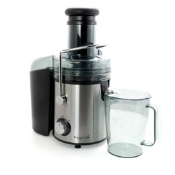 MegaChef Wide Mouth Juice Extractor - Silver