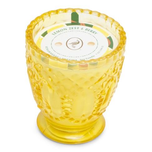 7oz Glass Jar Candle Lemon Zest & Berry - Fruit Collection - Opalhouse™ - image 1 of 2