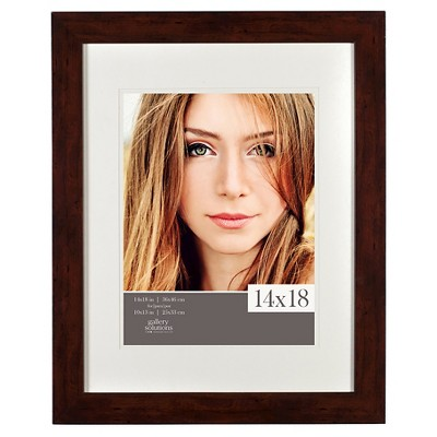 Gallery Solutions 14 x18  Frame - Walnut
