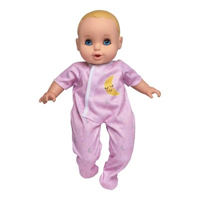 "Perfectly Cute 14"" My Sleepy Baby Doll - Blonde with Blue Eyes"