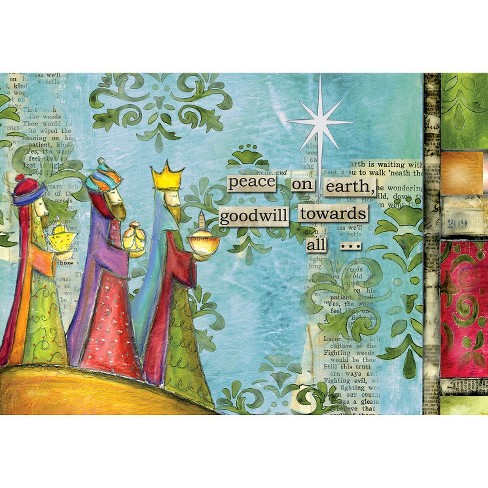 12ct Peace on Earth Petite Holiday Boxed Cards - image 1 of 1