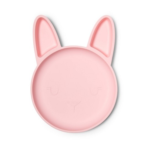Silicone Rabbit Shaped Plate - Cloud Island™ - image 1 of 2