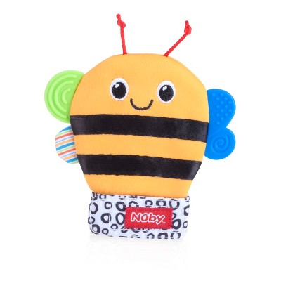 Nuby Animal Teething Mitten - Bee