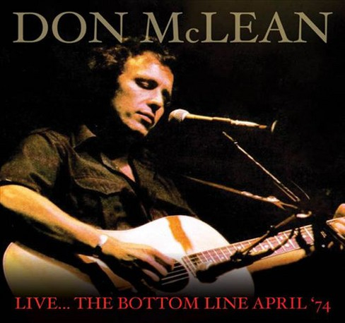 Don mclean - Live the bottom live april 74 (CD) - image 1 of 1