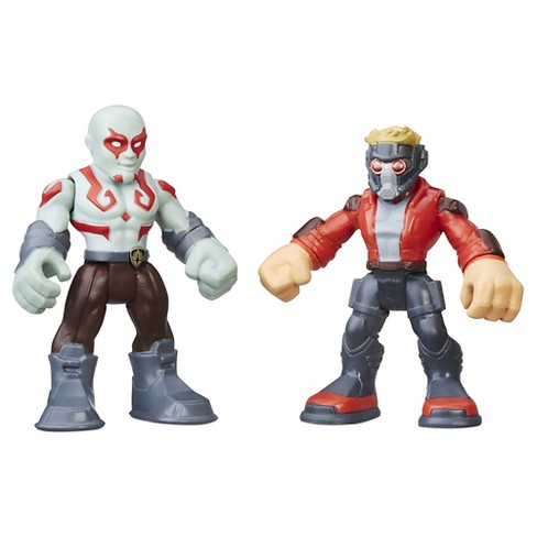 Playskool Heroes Marvel Super Hero Adventures Star-Lord and Drax - image 1 of 2