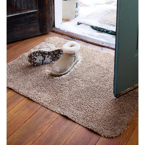 Microfiber Mud Rug Doormat With Non Skid Backing 19 X 29 Plow