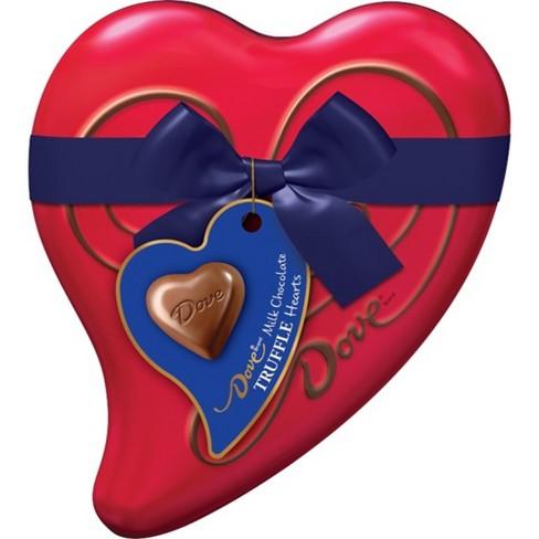 Dove Valentines Day Milk Chocolate Truffle Hearts 304oz Target