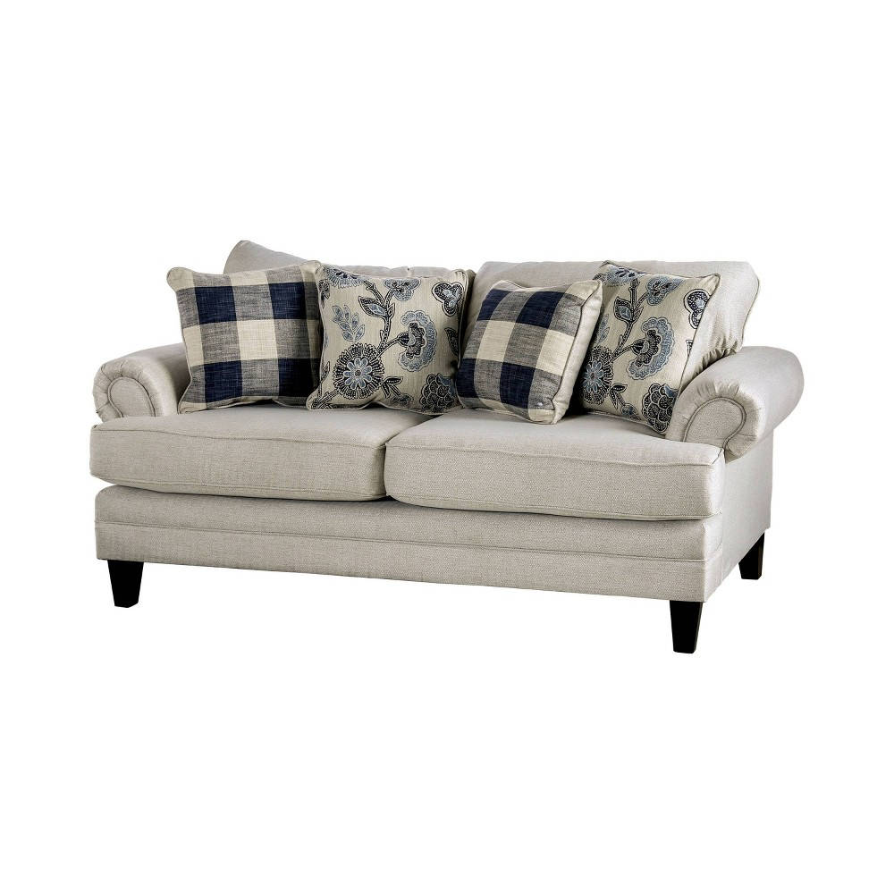 Calistoga T Cushion Loveseat Ivory Homes Inside Out