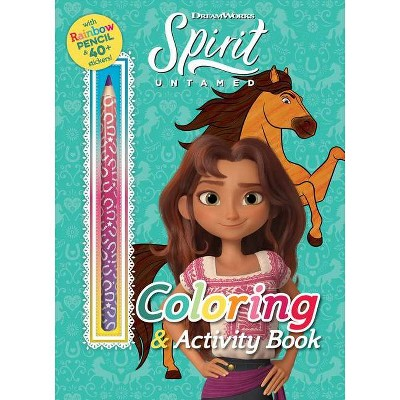 DreamWorks Spirit Untamed: Coloring & Activity Book - (Coloring Books with Covermount) (Paperback)