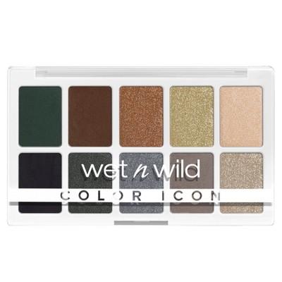 Wet n Wild Color Icon 10-Pan Eyeshadow Palette - 0.42oz