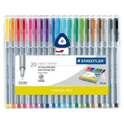 STAEDTLER 20pk Fine Tip Marker Pen Set