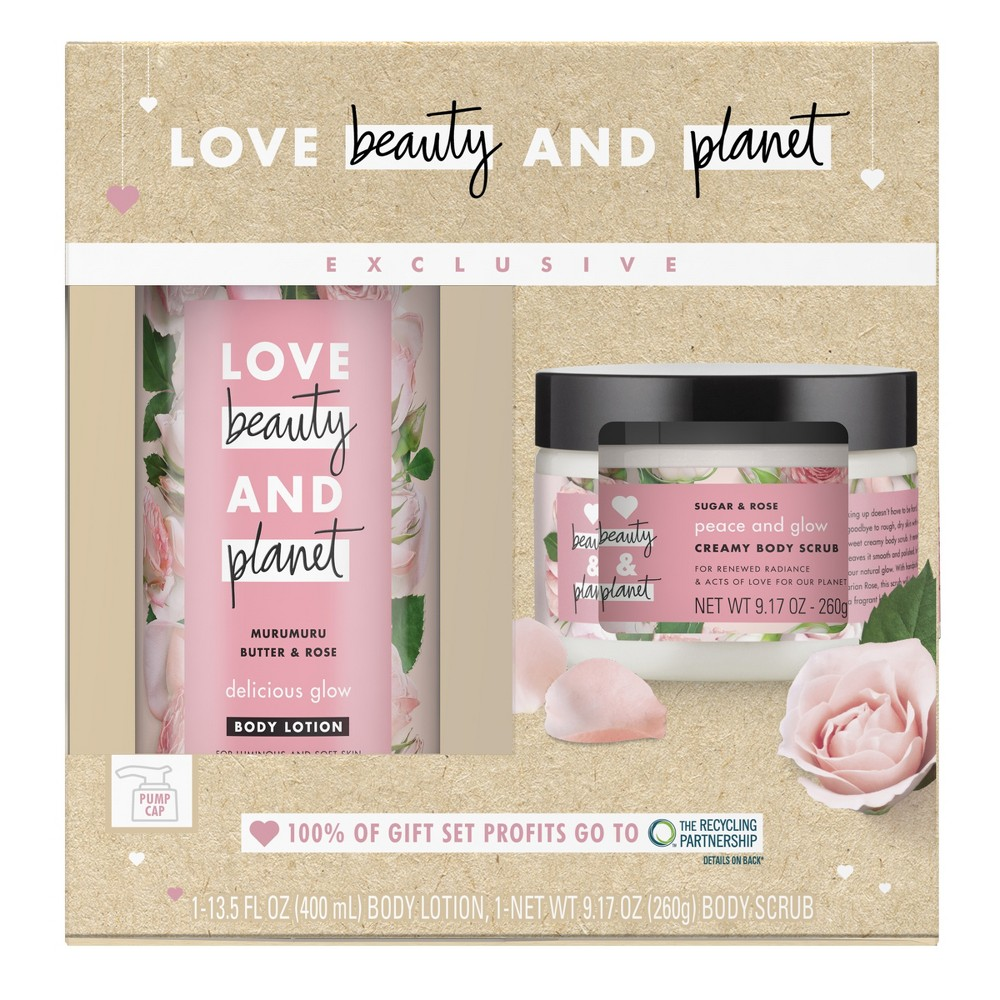 Love Beauty & Planet Bath And Body Gift Sets