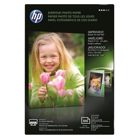 Hp Everyday Semi Gloss Photo Paper Cr759a Target