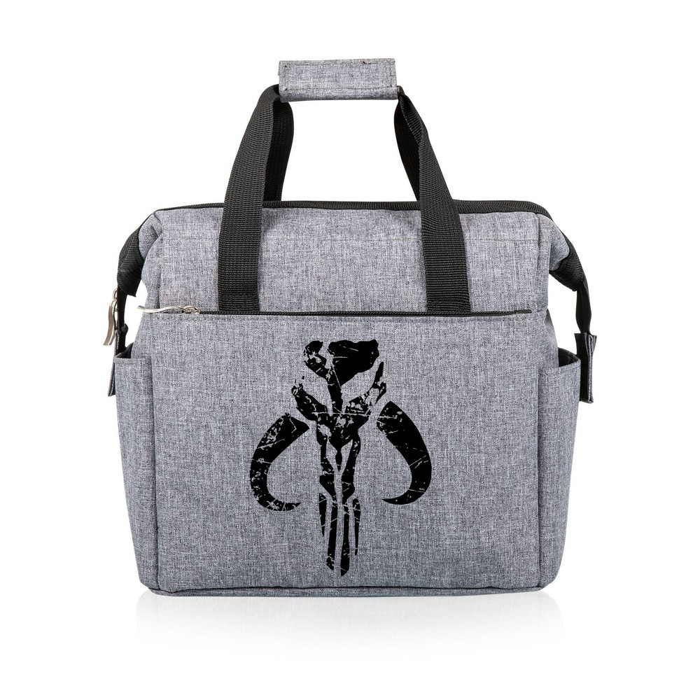 Picnic Time Star Wars Mythosaur Skull On The Go Lunch Bag Heathered Gray