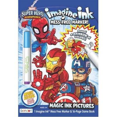 Marvel Superhero Adventures Imagine Ink Book (Board Book)