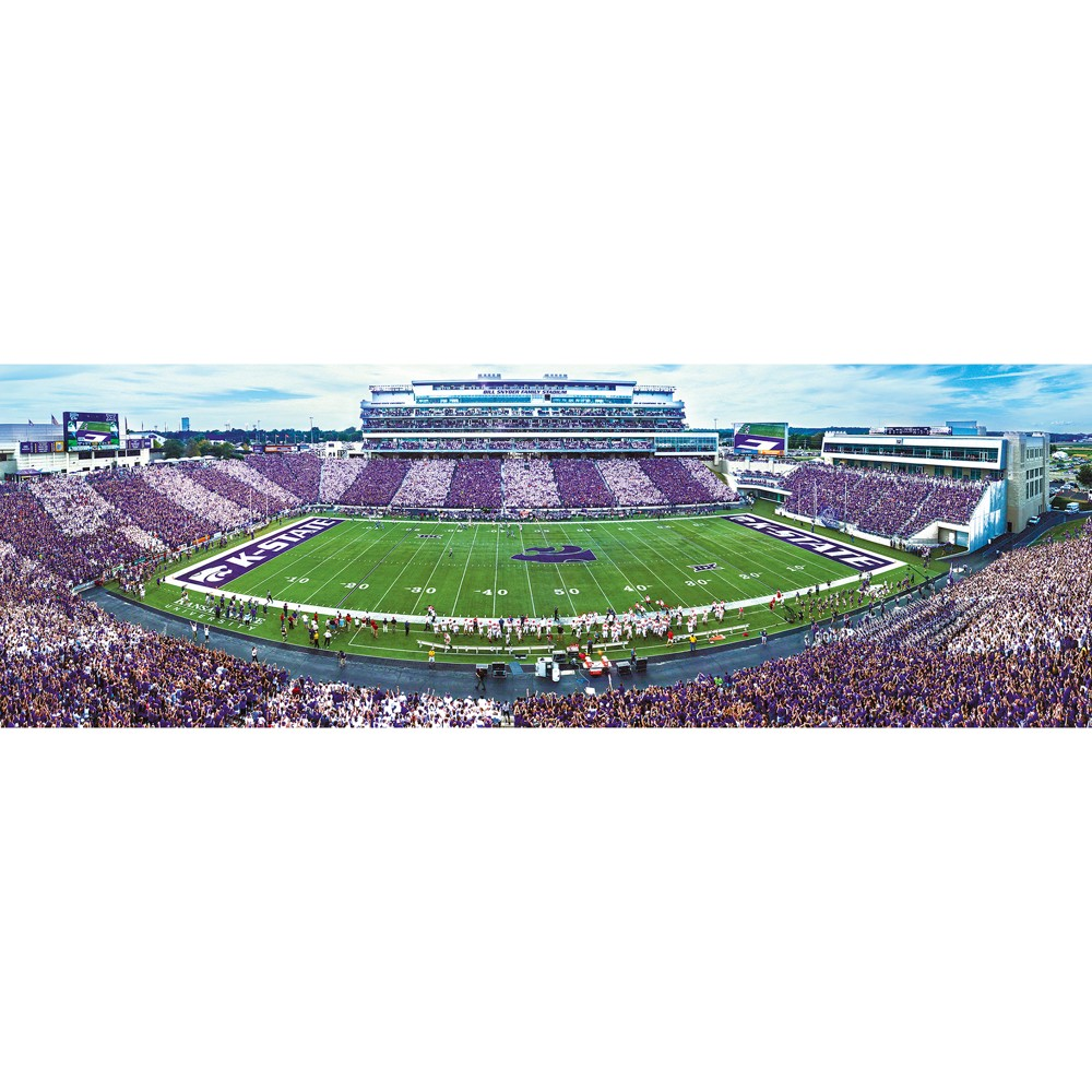 NCAA Kansas State Wildcats 1000pc Panoramic Puzzle
