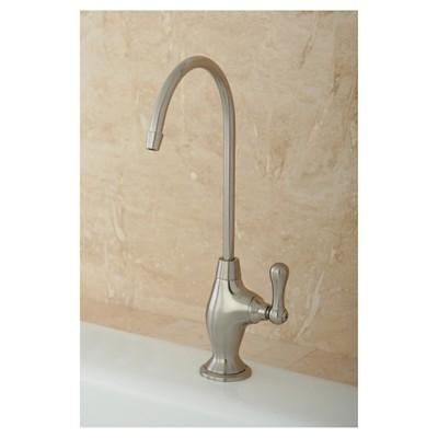 Restoration Water Filter Kitchen Faucet Satin Nickel - Kingston Brass