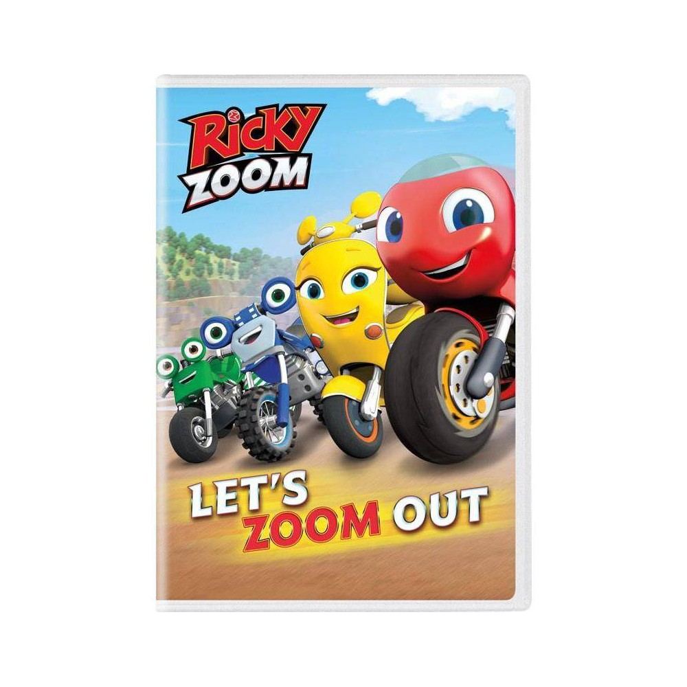 Ricky Zoom Let S Zoom Out Dvd 2020