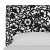 King Upholstered Platform Bed Shadow Poppy Black - Cloth & Company - image 4 of 4