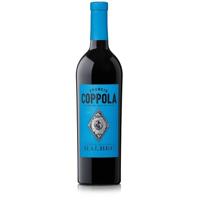 Francis Coppola Diamond Malbec Red Wine - 750ml Bottle