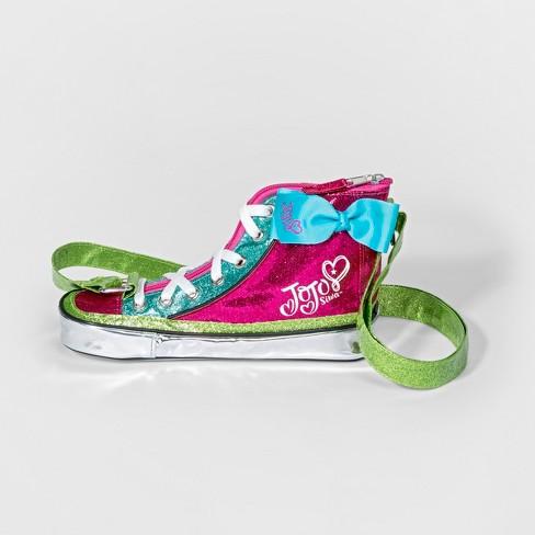 Girls  JoJo Siwa Converse Crossbody Bag - Pink   Target 922fcc800