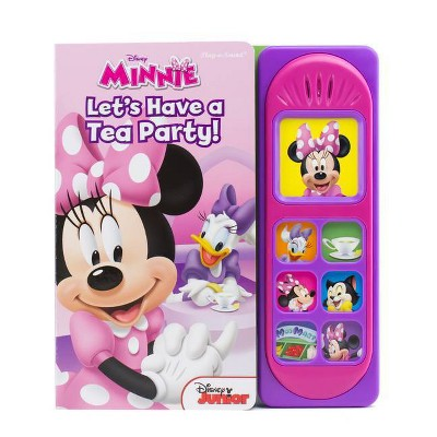 Disney Minnie Mouse - (Play-A-Song) by  Erin Rose Wage (Board Book)