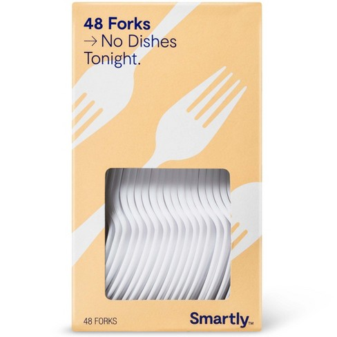 Plastic Forks - 48ct - Smartly™ - image 1 of 1