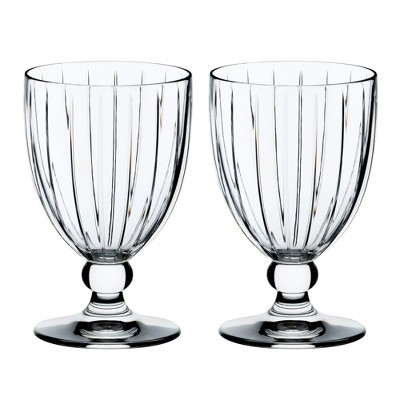 Riedel Sunshine Collection Classic Crystal All Purpose Glass Drinkware (2 Pack)