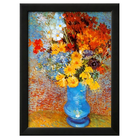 Art Vase Of Flowers C1887 By Vincent Van Gogh Target