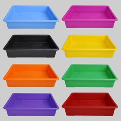 8ct Plastic Paper Trays - Bullseye's Playground™
