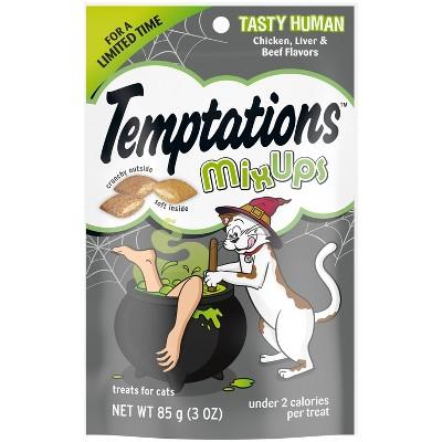Temptations Tasty Human Haunted House Cat Treats - 3oz